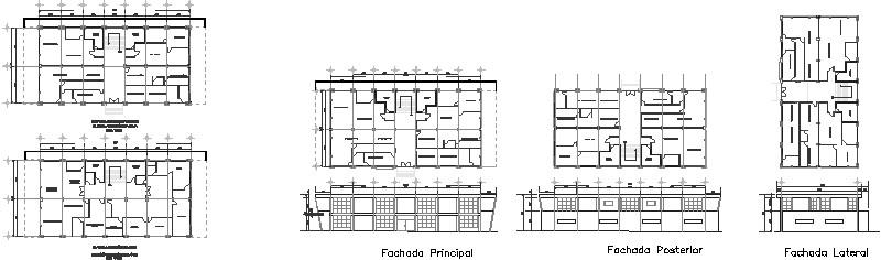 Plantas Arquitectónicas De Edificio Administrativo