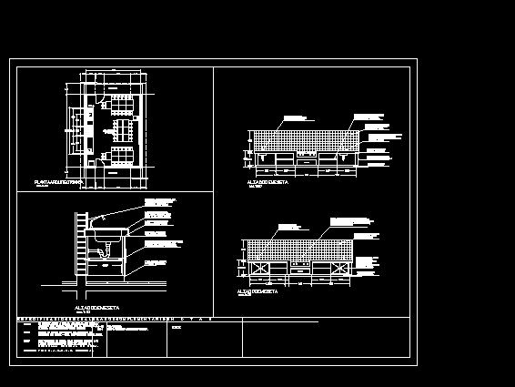 Descarga gratis aula cocina planos y bloques en autocad for Bloques autocad cocina