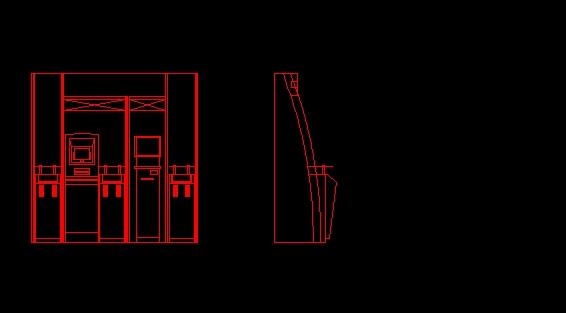 Descarga gratis cajero automatico planos y bloques en for Busqueda de cajeros