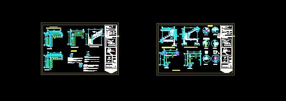 Descarga gratis escaleras metalicas planos y bloques en for Escaleras metalicas planos