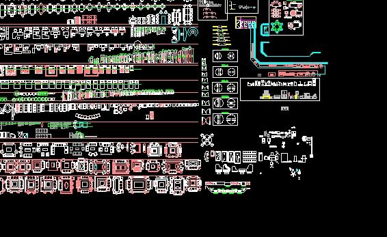Blocos do AutoCAD  Buscador de Arquitetura