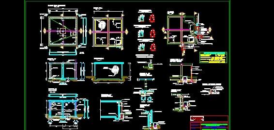 Descarga Gratis Estanque Agua Potable 100 M3 Planos Y