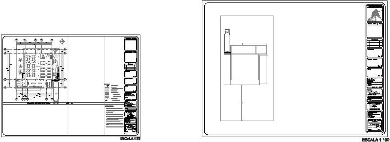 planta arquitectonica restaurante