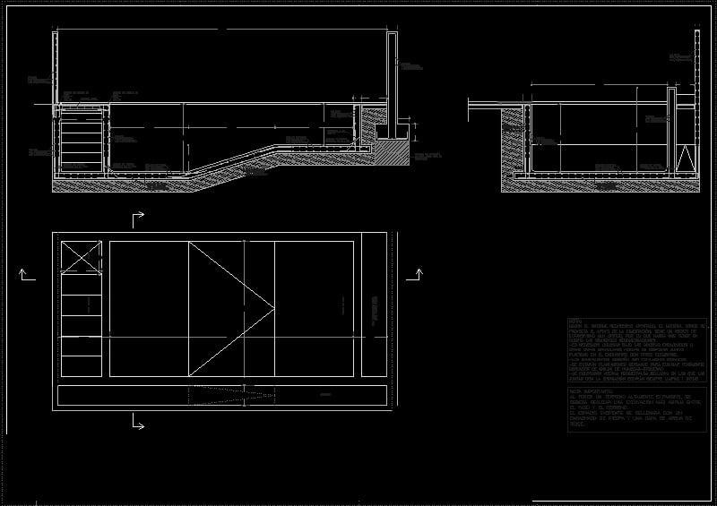 estructura piscina