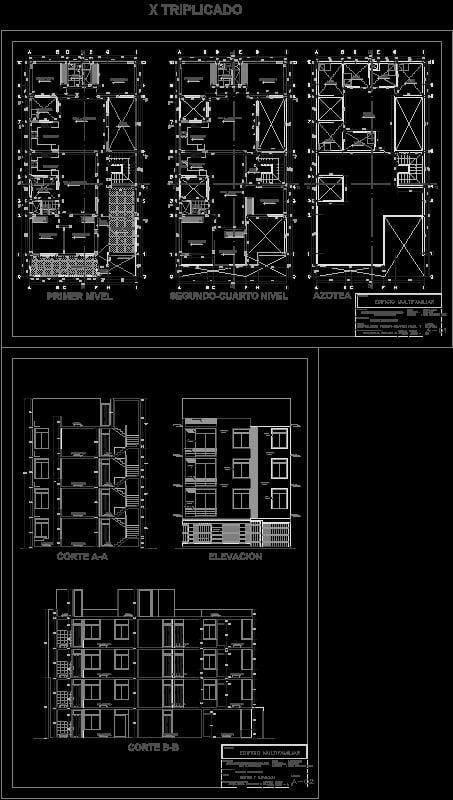 Arquitectura - Vivienda multifamiliar