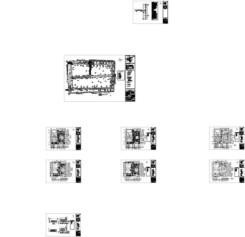 Plano Convento Tzintzuntzan