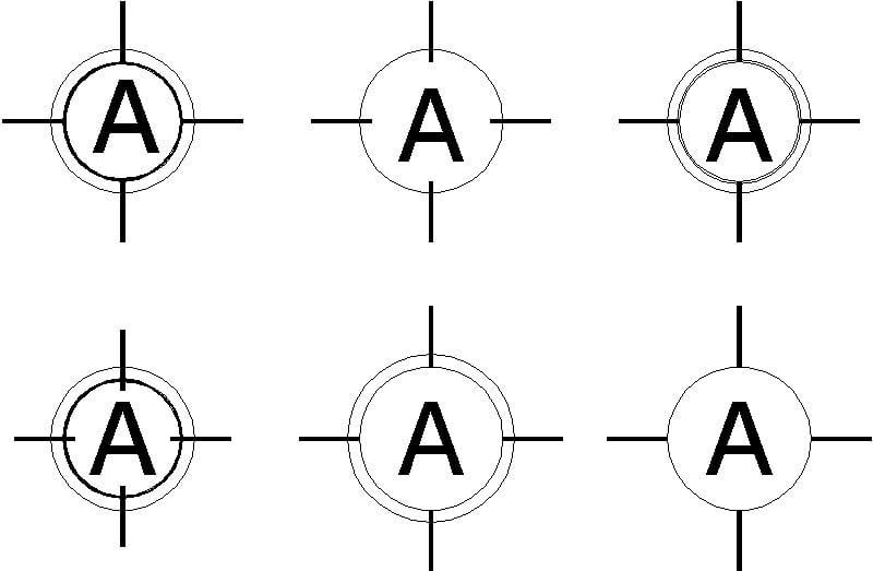 ejes de representacion