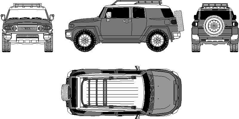 vehículo humer