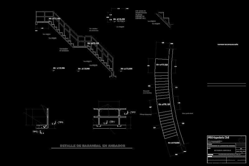 escala de escaleras
