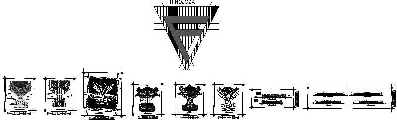 planos de centro de convenciones