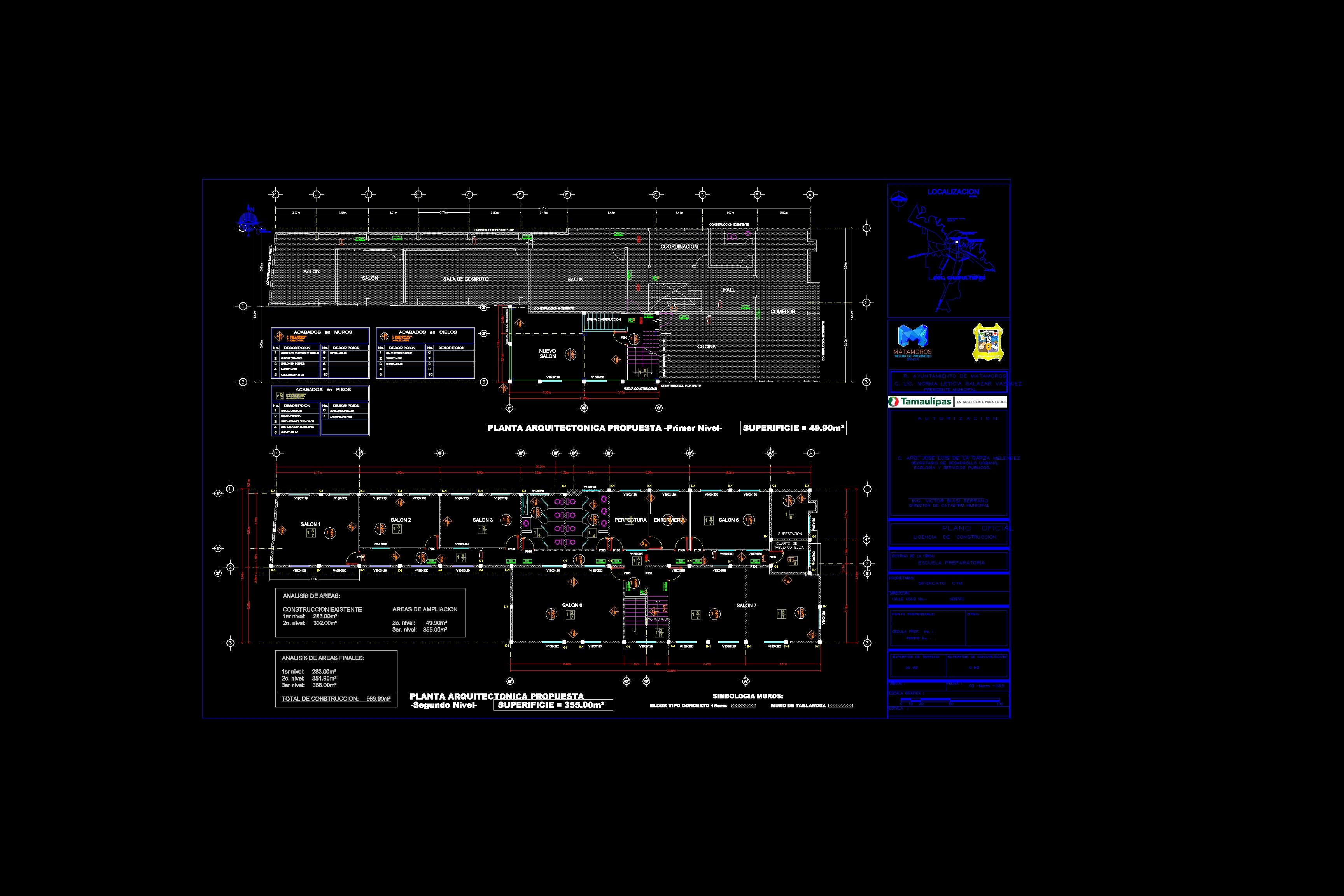 Descarga gratis plano de propuesta de ampliacion de una for Software planos arquitectonicos
