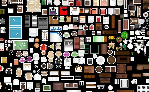 Descarga gratis muebles a color planos y bloques en for Muebles de oficina en autocad 3d gratis