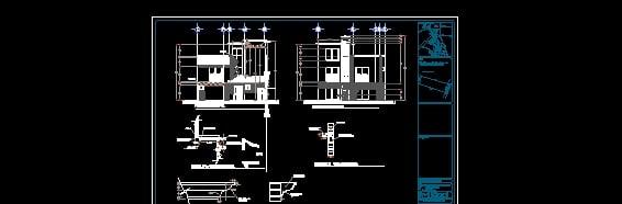 Juego De Planos De Casa HabitaciÓn, ArquitectÓnicos, CimentaciÓn, Estructura, Detalles Constructivos