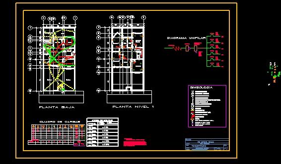 Descarga gratis plano de instalacion electrica planos y for Plano instalacion electrica