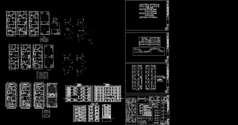Multifamiliar en sistema aporticado y muros portantes