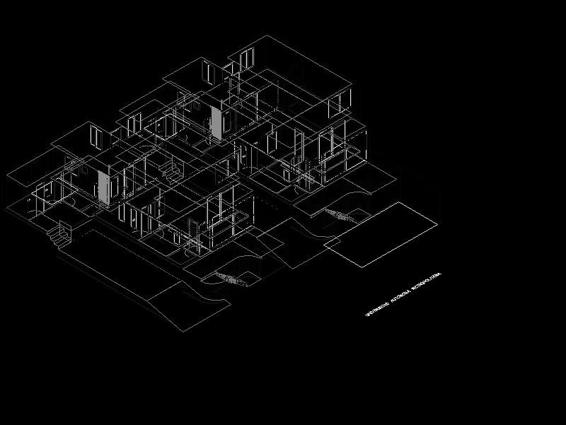 Casa Amueblada 3d