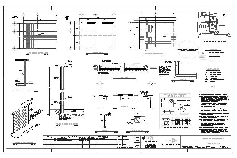 Losa Plano Estructural