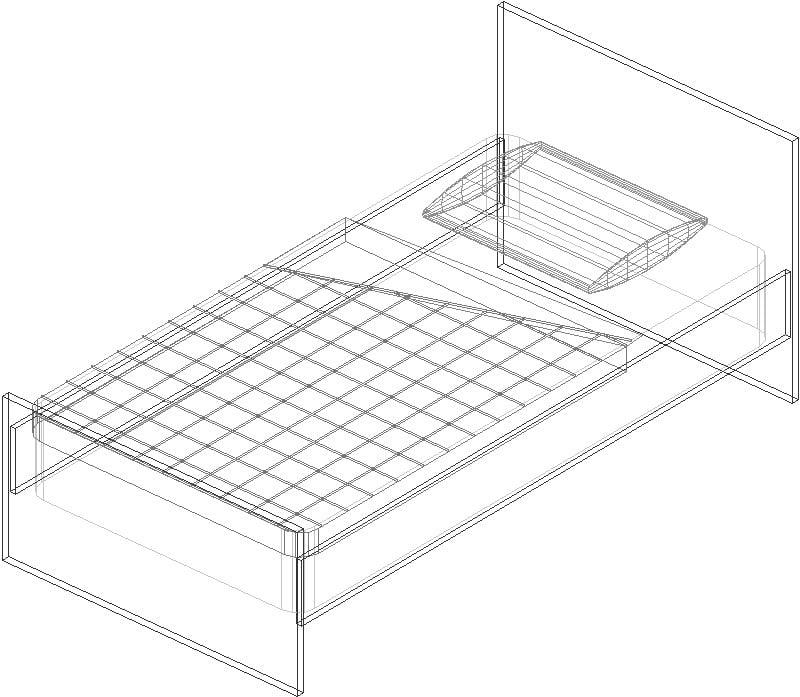 cama 3d