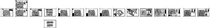 Planos Casa Habitación 2 Niveles (tipo Residencial)