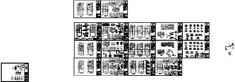 Plano estructural, instalaciones, acabados y albañileria
