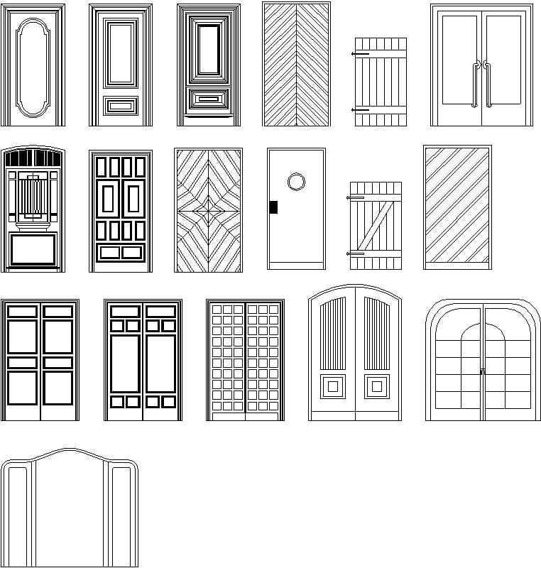 colección de Puertas