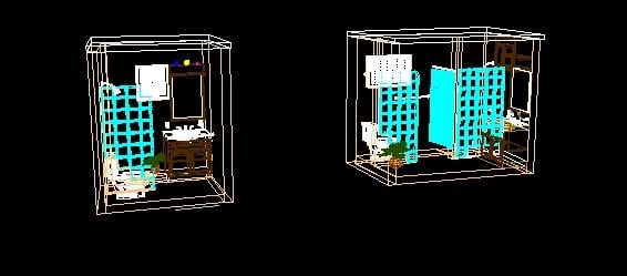 Sanitarios (baños) 3D