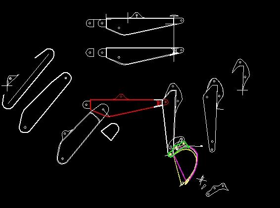 planos de una pala hidraulica