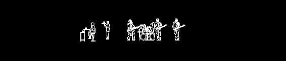 banda de rock en autocad