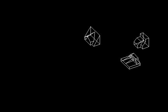 Descarga gratis mini cuarto 3d planos y bloques en for Habitacion 3d autocad