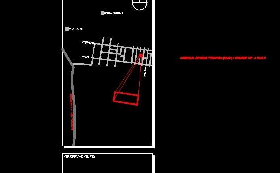 Descarga gratis solapa plano permiso planos y bloques for Pie de plano arquitectonico pdf