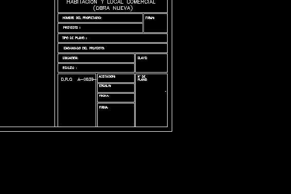 Bloques din micos descarga gratis de planos archivos y for Pie de plano arquitectonico pdf