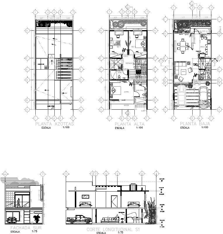 Casa Habitacion 8x16