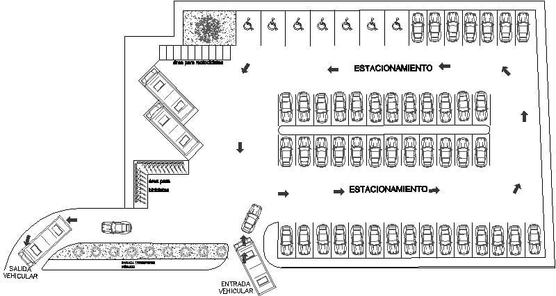 modelo de estacionamiento