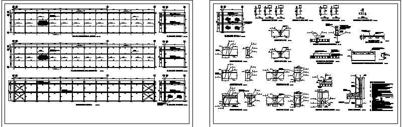 detalles estructura acero