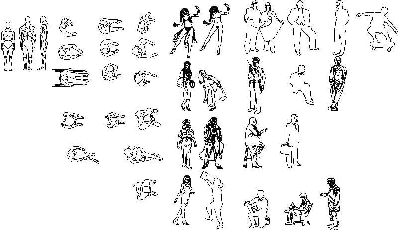 Figuras humanas.